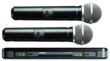 Draadloze microfoon shure